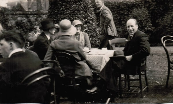 Eric Liddell enjoying tea © The Eric Liddell Centre